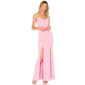 NWT LIKELY Alameda Gown Sachet Pink 2 Maxi